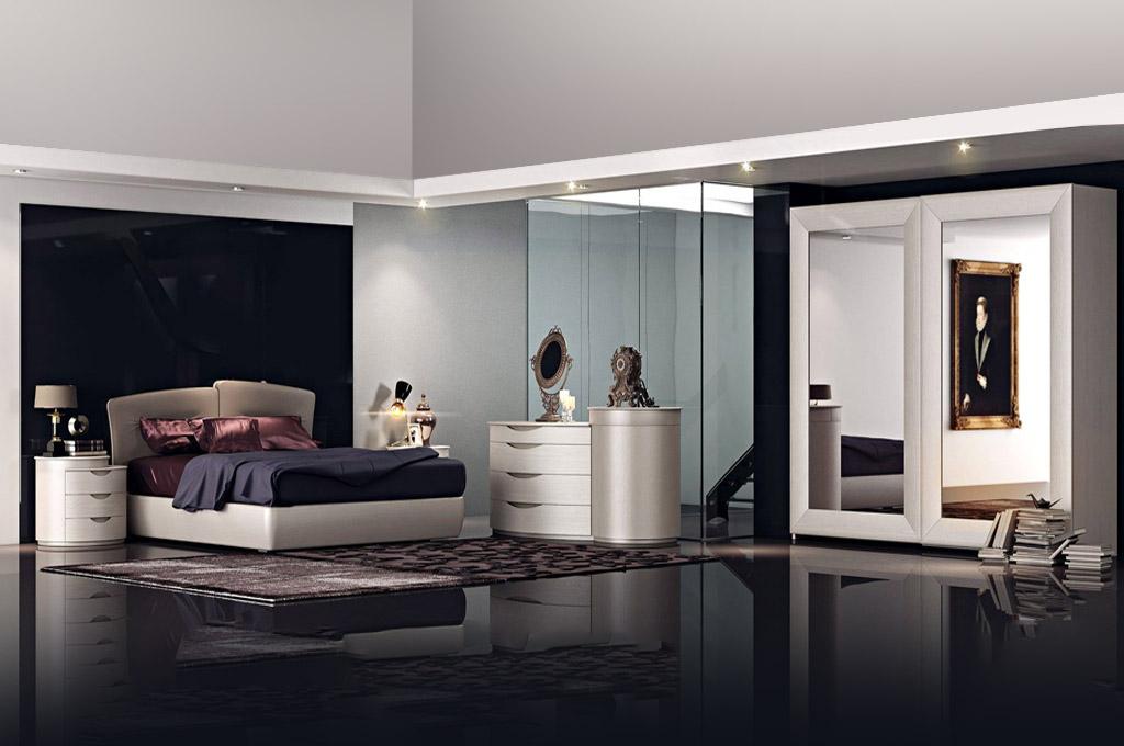 Premiere camere da letto moderne mobili sparaco for Camere da letto moderne colore olmo