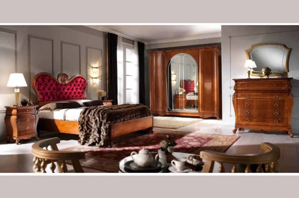 Filippo camere da letto classiche mobili sparaco - Camere letto classiche ...