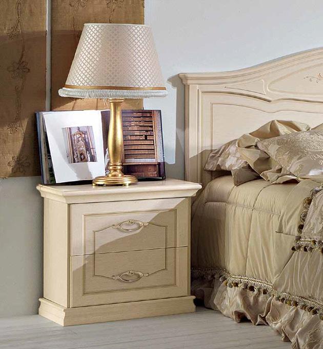 Cloe camere da letto classiche mobili sparaco - Mobili camere da letto classiche ...