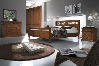 Camere da letto classiche mobili sparaco - Camere da letto in legno massello ...
