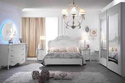 Viola camere da letto classiche mobili sparaco - Camere da letto complete offerte ...