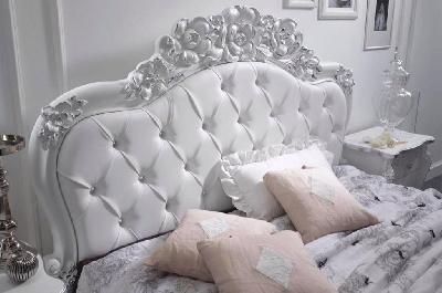 Viola camere da letto classiche mobili sparaco - Camera da letto nera e bianca ...