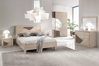 Camere da letto classiche mobili sparaco for Camera matrimoniale in legno