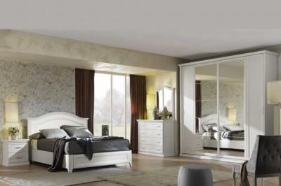 Camera Da Letto Bianco : Camere da letto classiche mobili sparaco