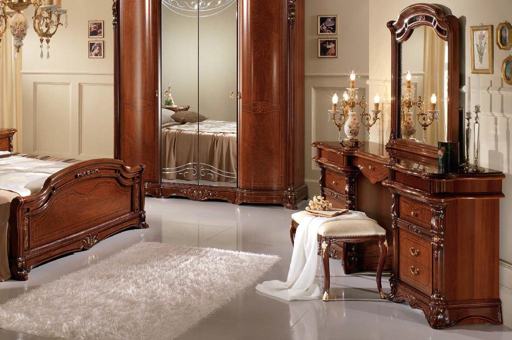 Regina camere da letto classiche mobili sparaco - Decori camera da letto ...