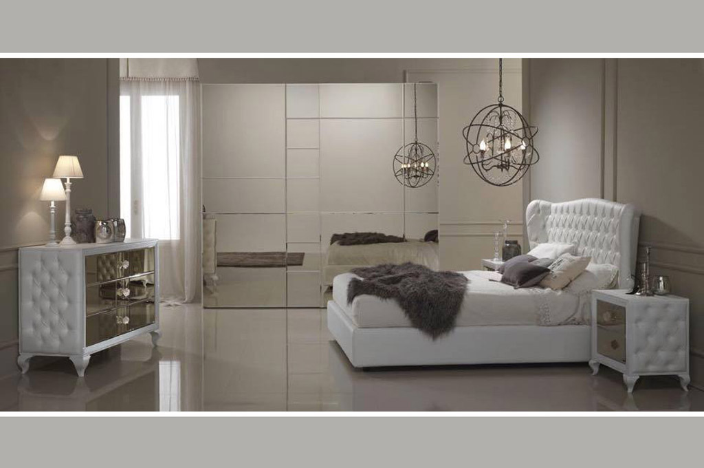 Luxury camere da letto moderne mobili sparaco for Mensole moderne camera da letto