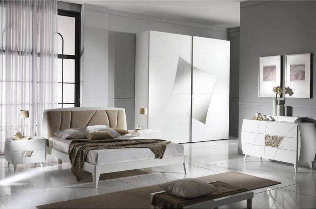 Lapis camere da letto moderne mobili sparaco for Camere moderne bianche