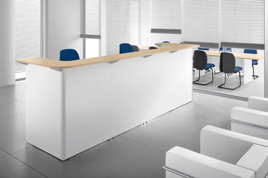 Teko uffici mobili sparaco for Reception da ufficio