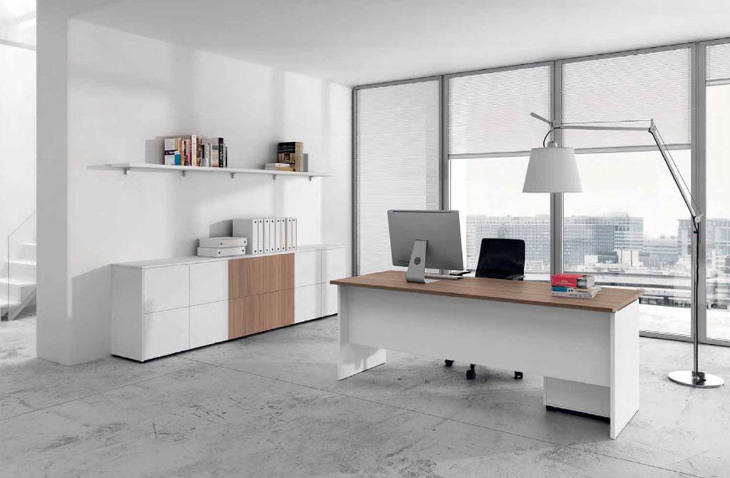 Teko 14 uffici mobili sparaco for Arredo ufficio bianco