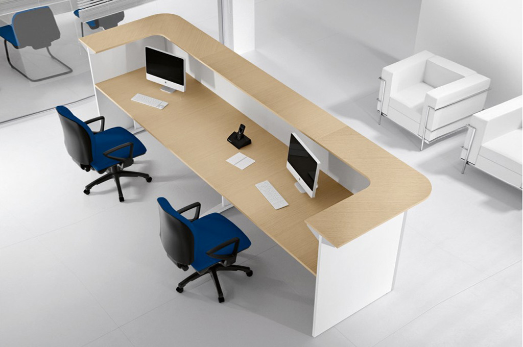Teko uffici mobili sparaco for Reception per ufficio