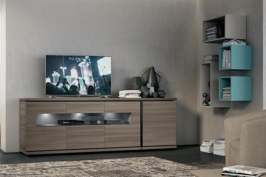Soggiorni a parete cm 210 idee creative di interni e mobili for Sparaco arredamenti