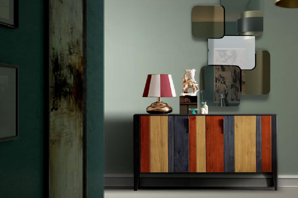 Soggiorni Moderni Colorati. Fabulous Finest Pareti Attrezzate ...