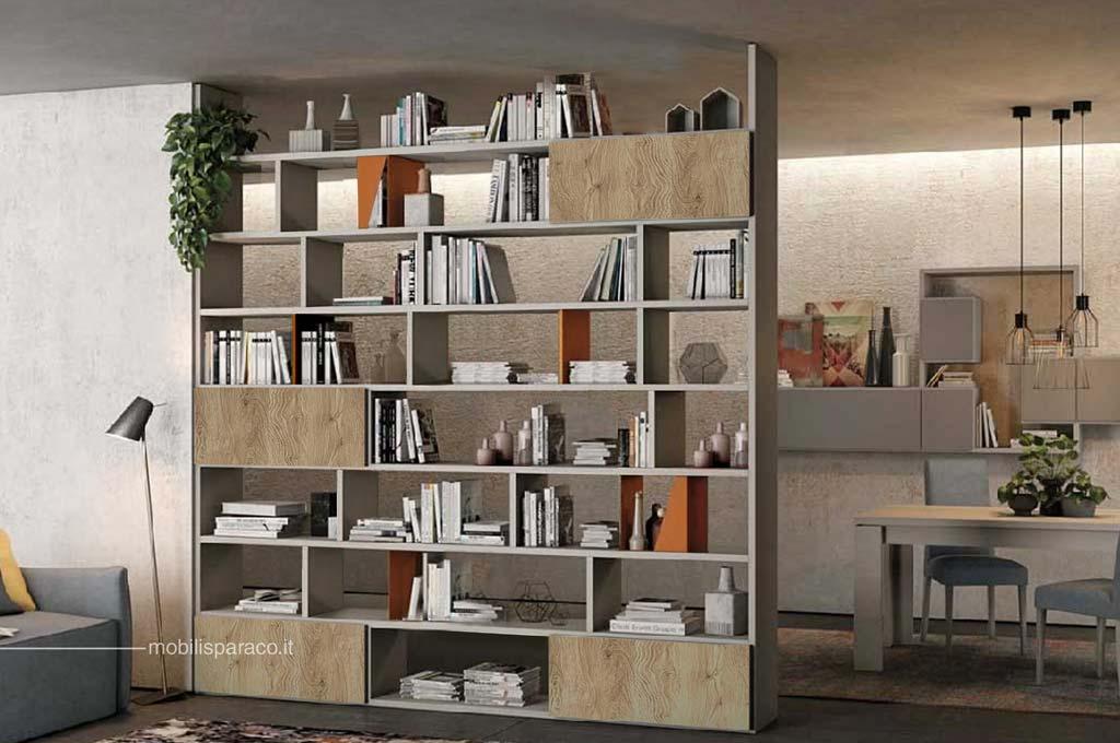 Library 30 soggiorni moderni mobili sparaco for Colombini soggiorni