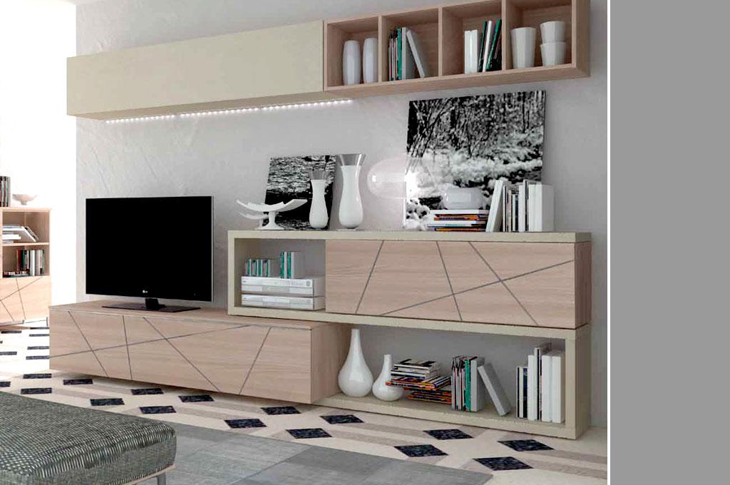Soggiorni A Parete Moderni: Soggiorni moderni componibili soggiorno modulare. Soggiorni moderni ...