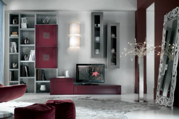 Mobili in legno massello cucine soggiorni e camere da letto - Soggiorni classico moderno ...
