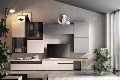 Soggiorni moderni mobili sparaco for Tufano arredamenti