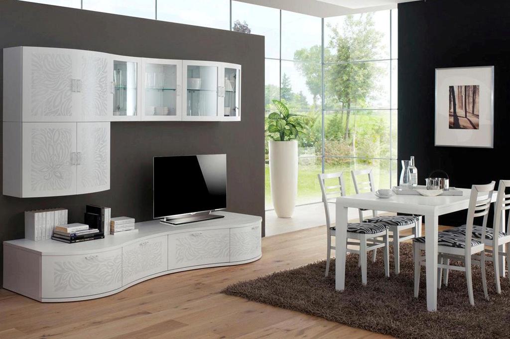 Vanilla soggiorni moderni mobili sparaco for Foto soggiorni moderni