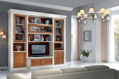 Mobili in legno massello cucine soggiorni e camere da letto for Foto soggiorni classici