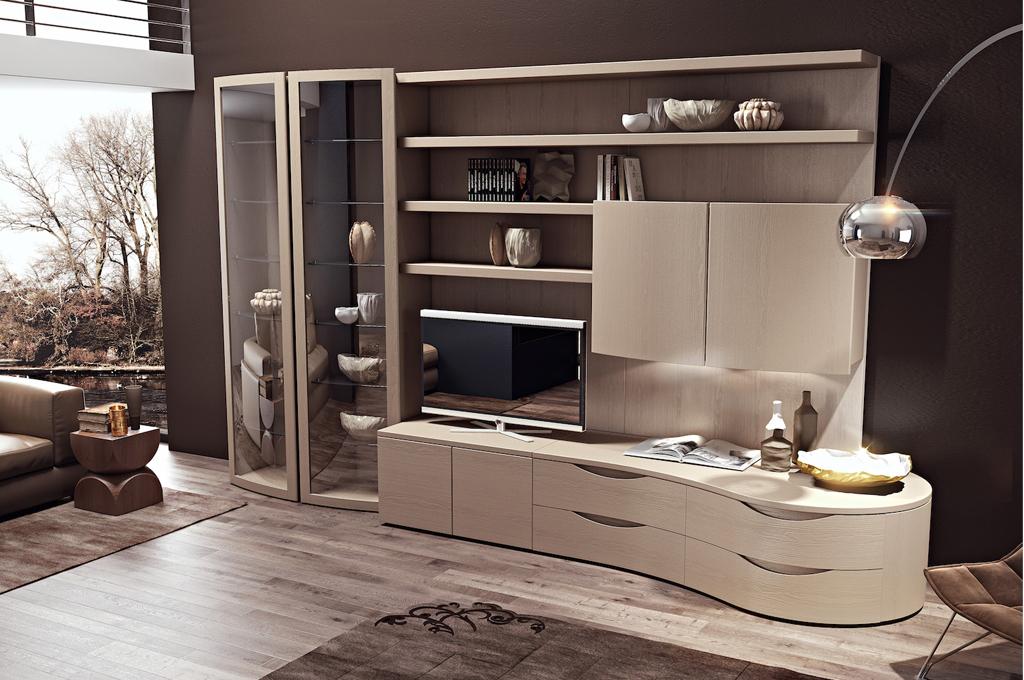 Dream glamour soggiorni classici mobili sparaco for Immagini mobili moderni