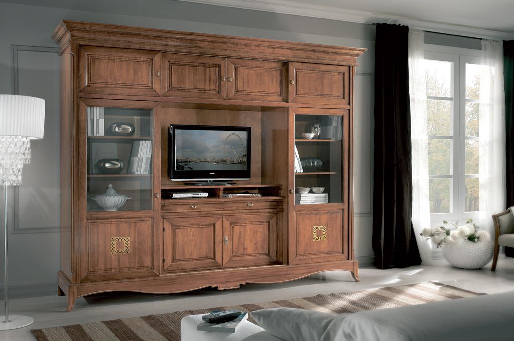 Mobili per soggiorno in legno massello design casa - Mobili soggiorno legno massello ...