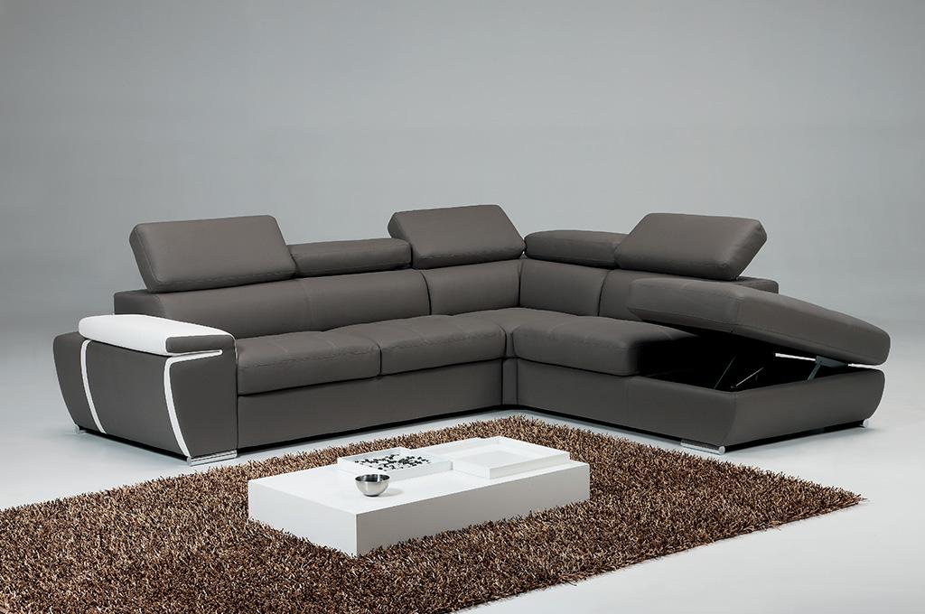 Pyrus divani moderni mobili sparaco - Divano ecopelle che si spella ...
