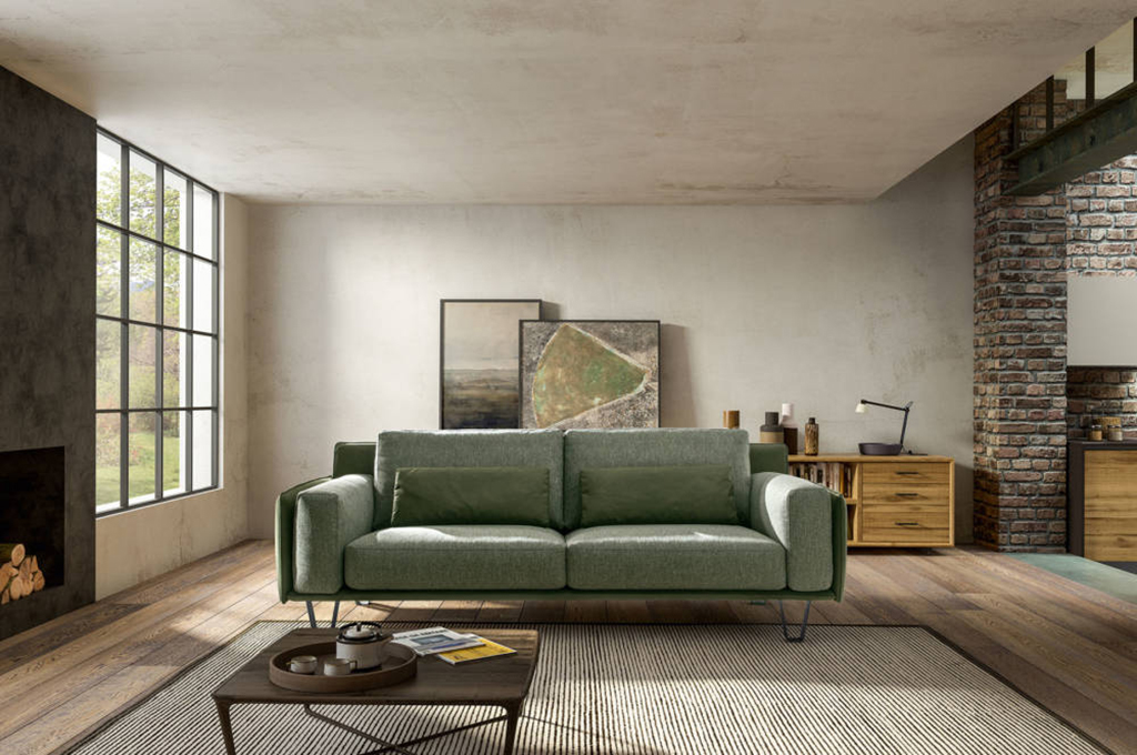 Living chic divani moderni mobili sparaco for Divani mobilia