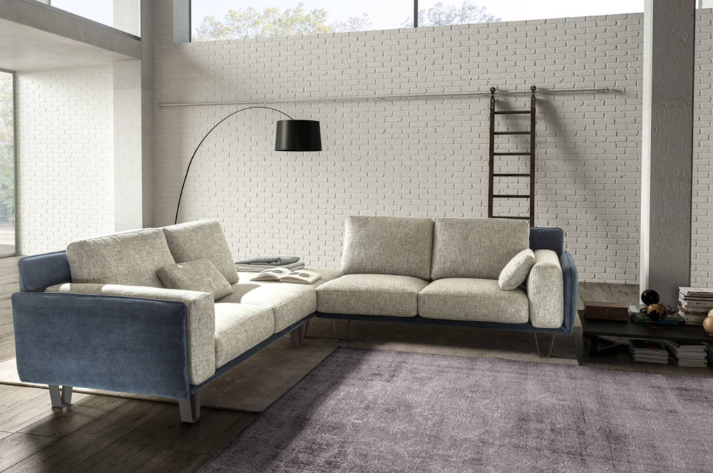 Living chic divani moderni mobili sparaco for Living moderni