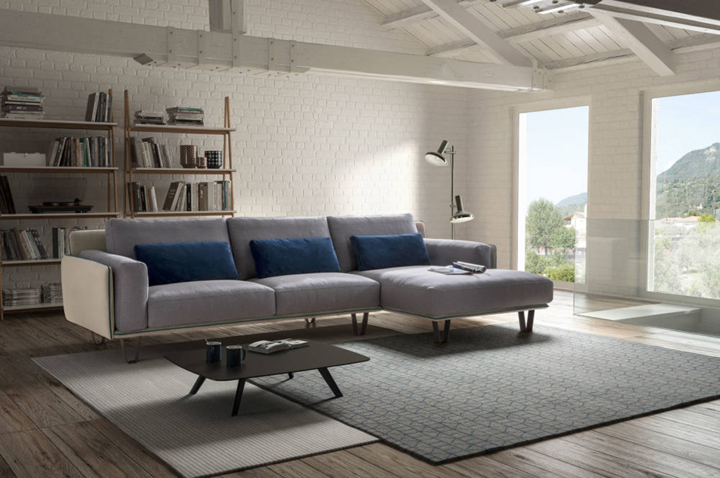 Living chic divani moderni mobili sparaco - Cuscini moderni divano ...