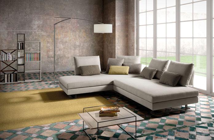 Harmony divani moderni mobili sparaco for Offerte divani angolari in tessuto