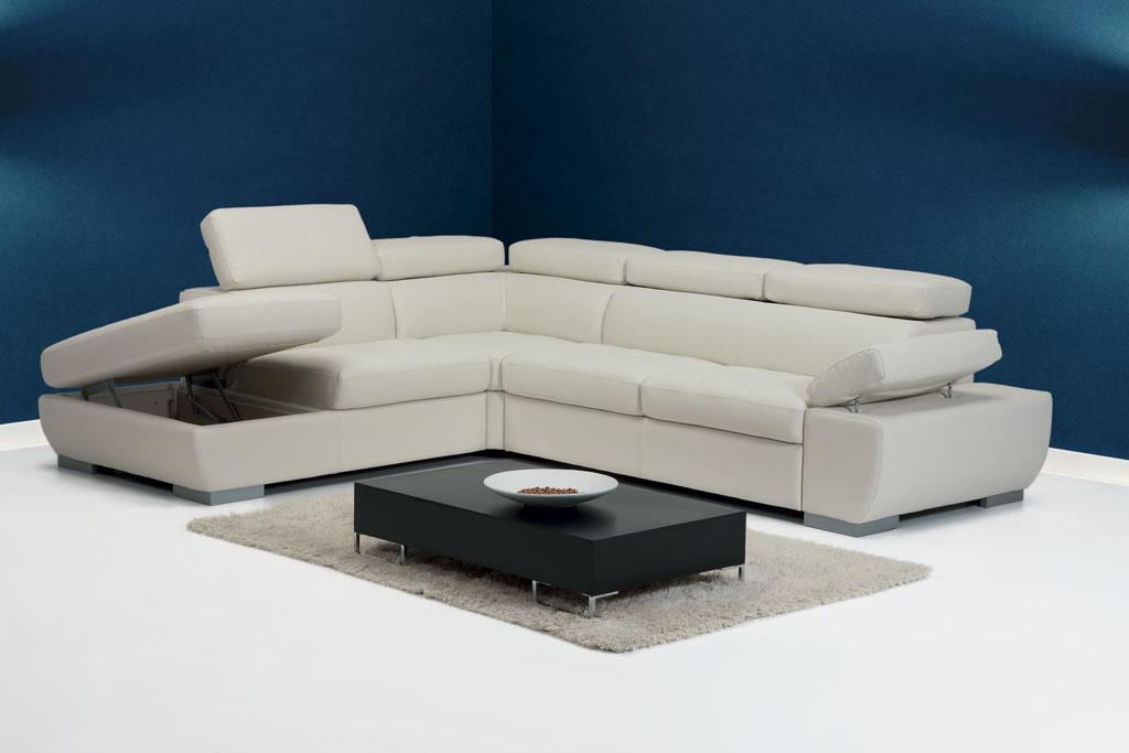 Malva angolare divani moderni mobili sparaco - Divano componibile angolare ...