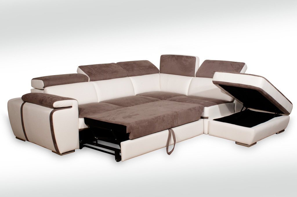 Pyrus divani moderni mobili sparaco for Divani letto in pelle