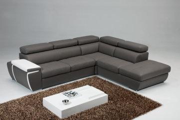 Pyrus divani moderni mobili sparaco - Divano pelle rigenerata ...
