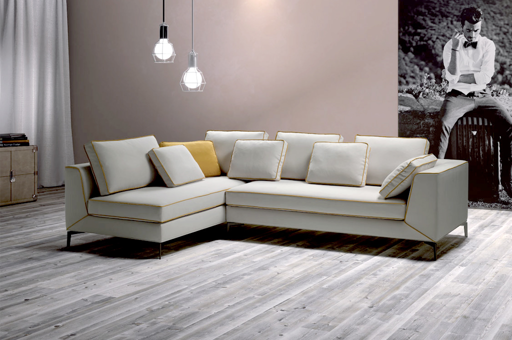 Sugar divani moderni mobili sparaco for Divani moderni con penisola
